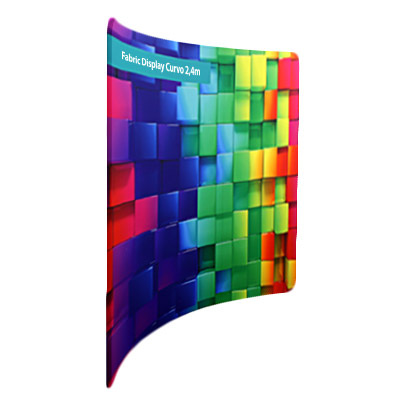 Fabric Display Curvo